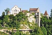 Laufen-Uhwiesen - Schloss Laufen - Neuhausen am Rheinfall 2010-06-24 18-50-40.JPG