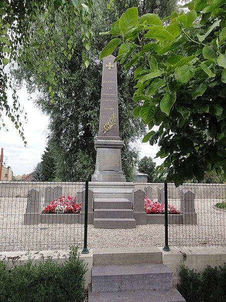 Le Catelet (Aisne) monument