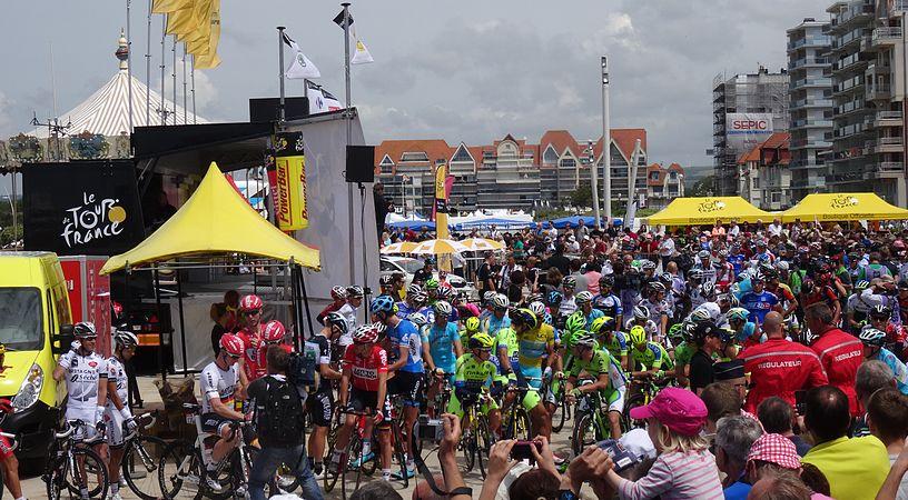 Le Touquet-Paris-Plage - Tour de France, étape 4, 8 juillet 2014, départ (C19).JPG