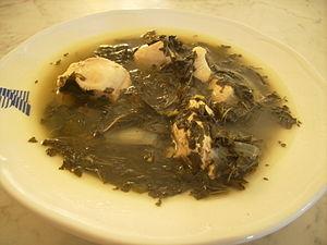 Mulukhiyah - Levantine mulukhiyyeh with chicken