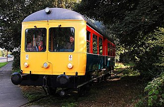 British Rail railbuses - 999507 Elliot on the Middleton Railway