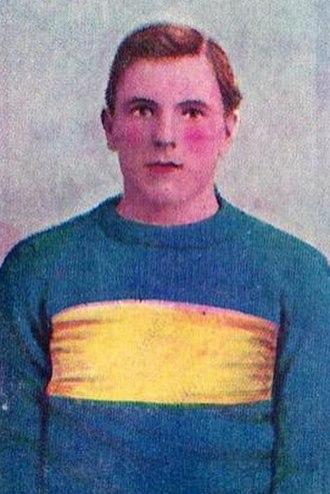 Len Mortimer - Cigarette card of Mortimer in 1905
