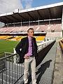 Lens - Stade Félix-Bollaert, fête du classement du bassin minier au patrimoine mondial de l'Unesco le 6 juillet 2012 (01).JPG