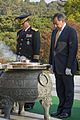 Leon Panetta lays a wreath, Seoul National Cemetery (4).jpg
