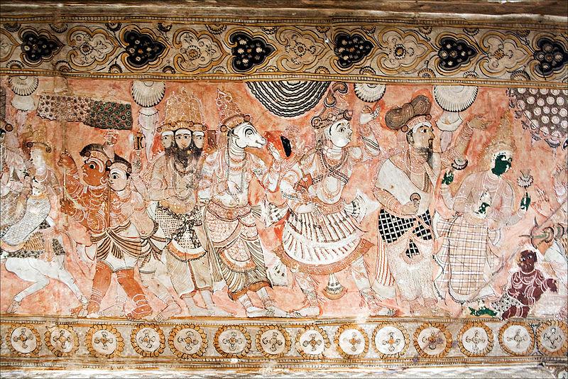 File:Lepakshi Temple Ceiling.jpg