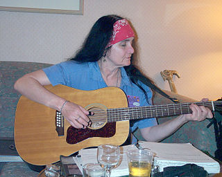 Leslie Fish American folk musician, author, and anarchist political activist.