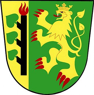 Lesná (Tachov District) - Image: Lesna znak
