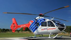 Healthcare in the Czech Republic - Czech ambulance helicopter