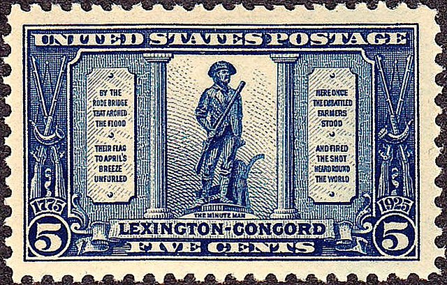 [Minuteman stamp]
