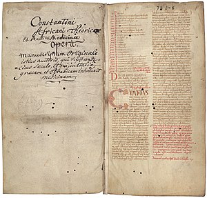 Liber pantegni - Eleventh-century manuscript version of the Liber pantegni, National library of the Netherlands