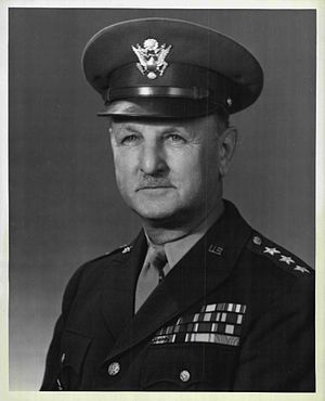 George Grunert - Lieutenant General George Grunert, Deputy Commander and Commander, First United States Army and Eastern Defense Command