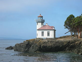 San Juan Island - Lime Kiln Lighthouse 2