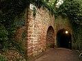 Lime kiln and tunnel entrance, Shaldon - geograph.org.uk - 1041945.jpg