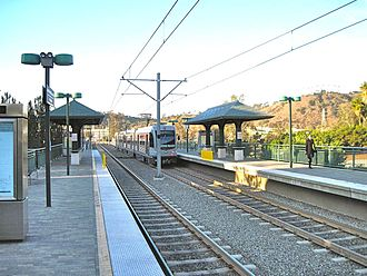 Cypress Park, Los Angeles - Lincoln/Cypress Gold Line station