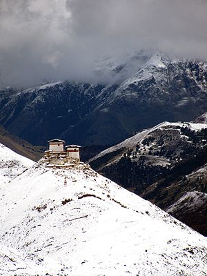 Lingzhi Yügyal Dzong - Image: Lingzhi Yugyal Dzong 02