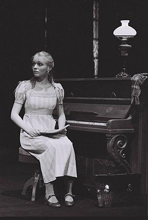 Linn Stokke - As Frida Foldal in Ibsens John Gabriel Borkman at Nationaltheatret in 1979