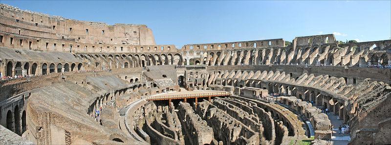 Colisée de Rome - Photo de Jean-Pierre Dalbéra