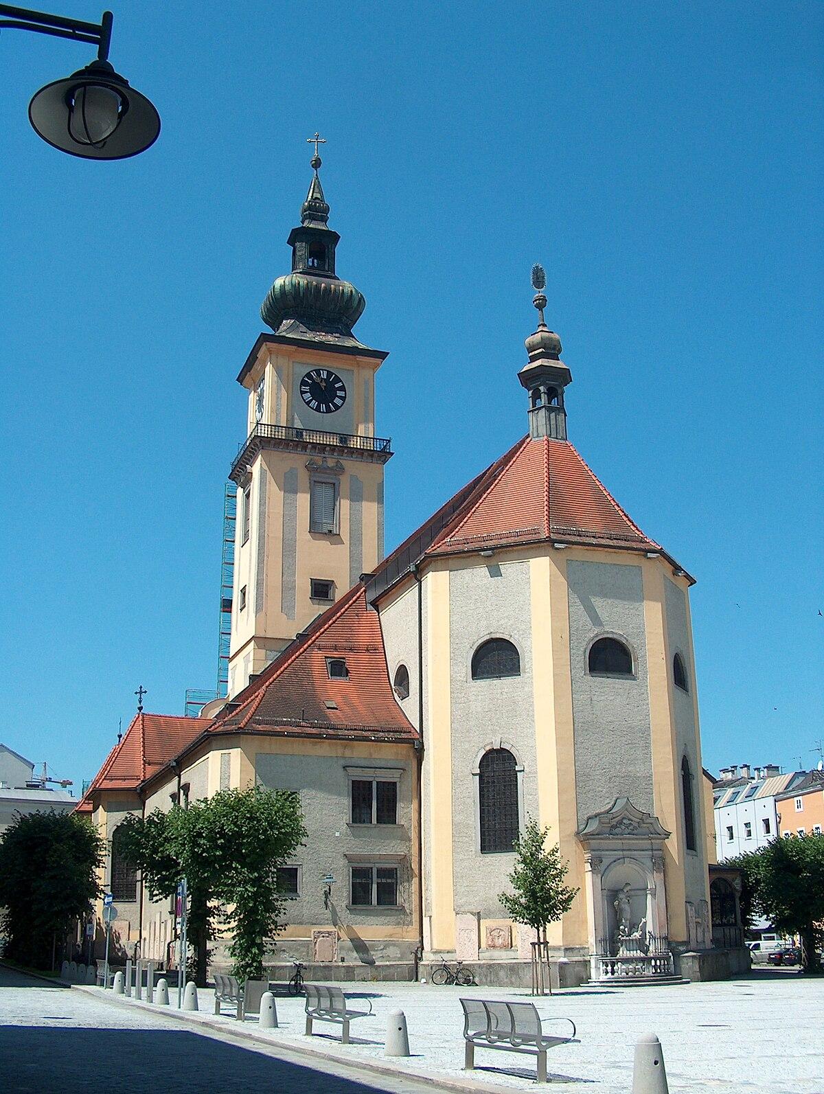 Stadtpfarrkirche (Linz) – Wikipedia