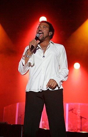 Lionel Richie in concert at the Chumash Casino...