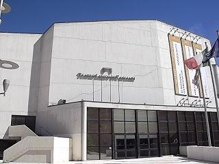 Teatro Lirico di Cagliari opera house in Cagliari, Italy