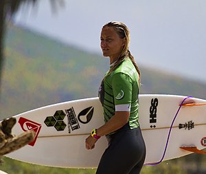 Lisa Andersen - Lisa Andersen at the 2011 Budlight Tour in San Onofre, CA.