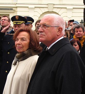 Livia Klausová - Livia Klausová and Václav Klaus (2011)