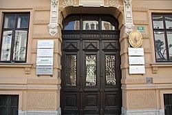 Ljubljana, Presernova 11 embassies.jpg