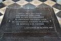 Llosa sobre la cripta dels Santàngel, monestir de la Trinitat de València.JPG