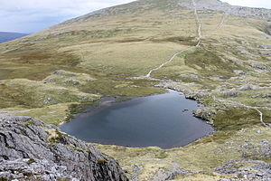 Campaign for the Protection of Rural Wales - Llyn y Cŵn in the Snowdonia National Park