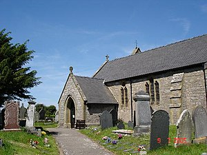Llysfaen - St Cynfran's church