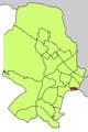 Localització d'El Jonquet respecte del Districte de Ponent.png