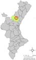 Localització de Gaibiel respecte del País Valencià.png