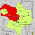 Localització de Llíria respecte del Camp de Túria.png