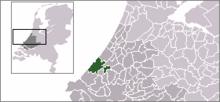 Situo de la komunumo Den Haag / 's-Gravenhage