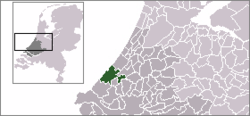 Location of The Hague