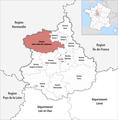 Locator map of Kanton Saint-Lubin-des-Joncherets 2019.png