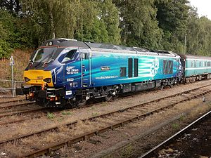 Direct Rail Services - Image: Loco 68022 at Norwich