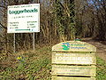 Loggerheads Country Park signs - DSC05435.JPG