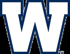 Banjo Bowl - Image: Logo Winnipeg Blue Bombers