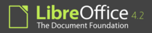 Logo of LibreOffice 4.2.png