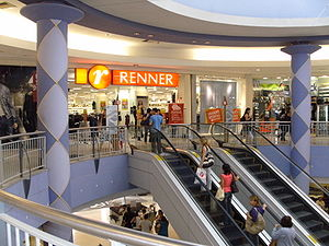Lojas Renner - Lojas Renner store in a shopping mall in Recife.