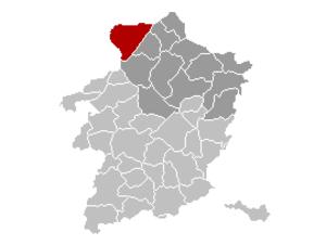 Lommel - Image: Lommel Location