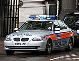 Metropolitan Police armed response vehicle