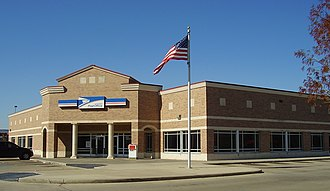 A typical post office station in the Spring Branch area of Houston, Texas LongPointStationHouston.JPG