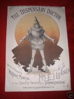 E. J. Lonnen - Lonnen in Frankenstein