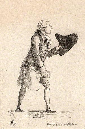 Lord John Cavendish - Lord John Cavendish by James Sayers (1782)