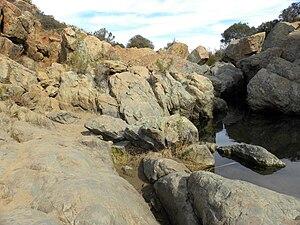 Rancho Peñasquitos, San Diego - Waterfall in Los Peñasquitos Canyon Preserve.
