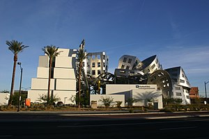Lou Ruvo Center for Brain Health - Image: Lou Ruvo Center West 2010 12 10