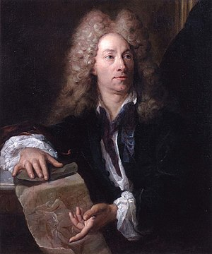 Gilles Allou - Portrait of Louis de Boullongne.