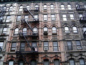 Tenement - Lower East Side tenement buildings
